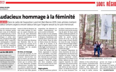 Audaz homenaje a la feminidad