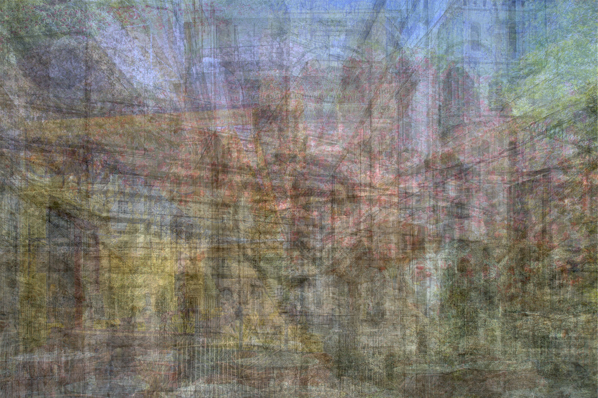 Arles | 100cm x 66cm | Inyección de tinta sobre aluminioUV Druck auf Aluminium