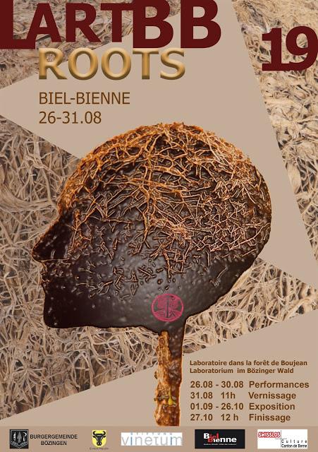 Laboratorio Land art Biel-Bienne 2019 «ROOTS»